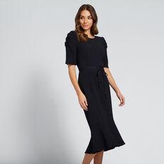 Pebbled Textured Dress  ANIMAL PRINT  hi-res