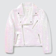 Irridescent Sequin Jacket  IRIDESCENT  hi-res