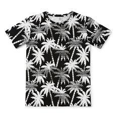 Palm Tee  WASHED BLACK  hi-res