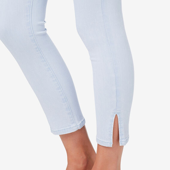 Side Split Jean  SKY BLUE DENIM  hi-res