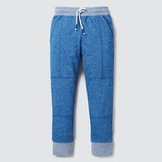 Panelled Track Pant  BRIGHT SKY MARLE  hi-res