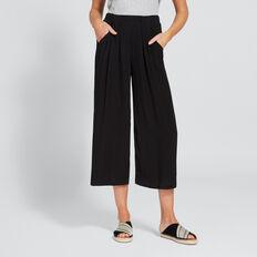 Casual Soft Pant  BLACK  hi-res