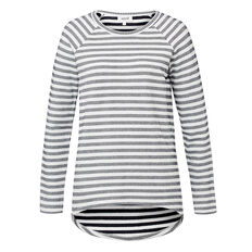 Stripe Easy Sweater  MULTI  hi-res
