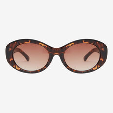 Mila Oval Sunglasses  TORT  hi-res