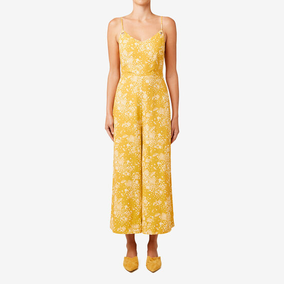 Eyelet Jumpsuit  HONEY FLORAL  hi-res