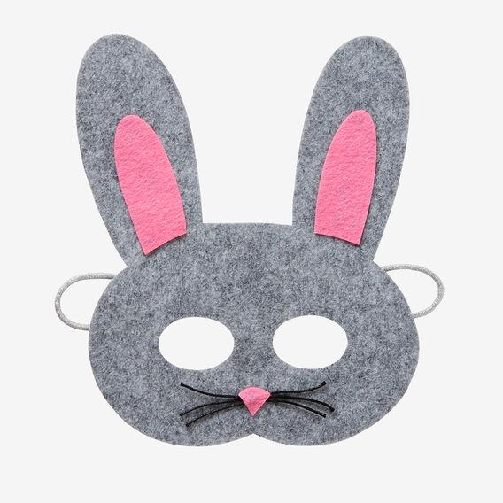Bunny Mask  GREY  hi-res