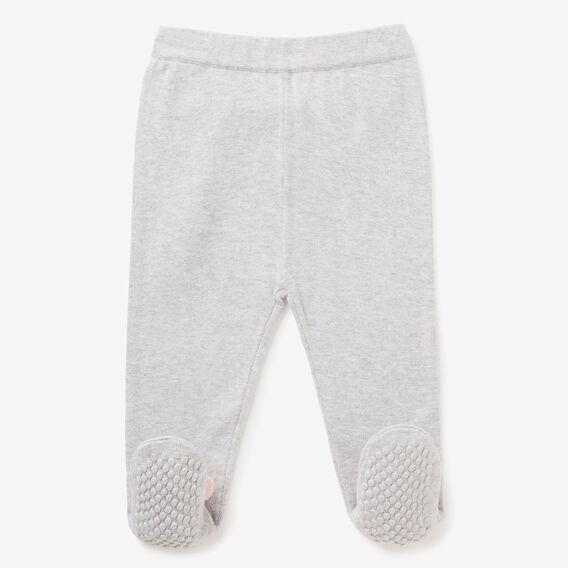 Knit Bunny Foot Legging  CLOUD  hi-res