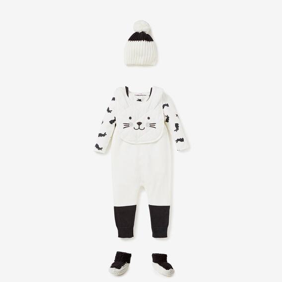 Bunny Yardage Bodysuit  CANVAS  hi-res
