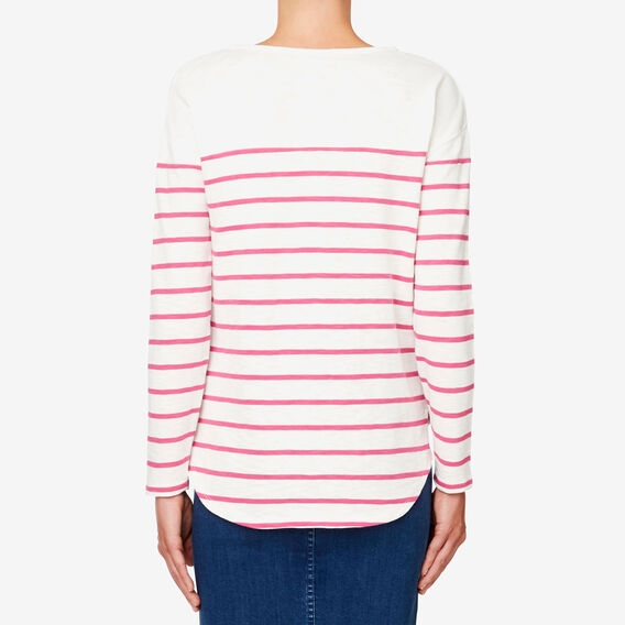Via Del Corso Sweater  ORCHID STRIPE  hi-res