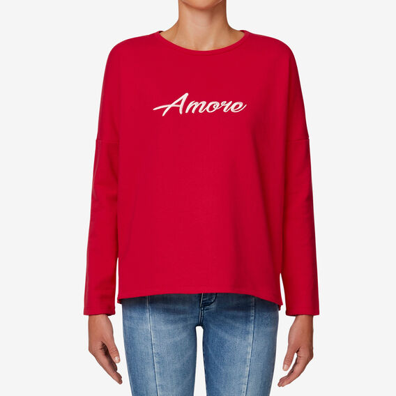 Amore Top  BOLD RED  hi-res