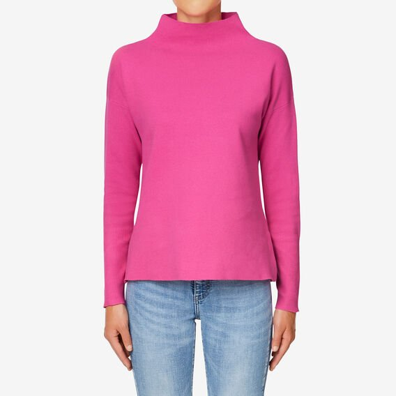 Boxy Roll Neck Sweater  ORCHID  hi-res