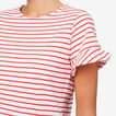 Easy Stripe Dress  DUSTY RED STRIPE  hi-res