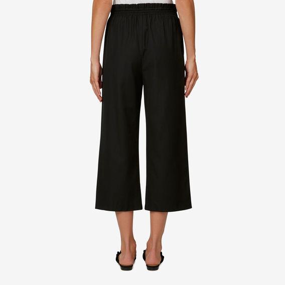 Wide-Leg Culotte  BLACK  hi-res