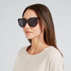 Mia Lady Round Sunglasses  BLACK  hi-res