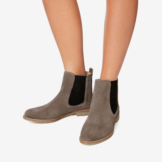 Arlo Flat Gusset Boot  GREY  hi-res
