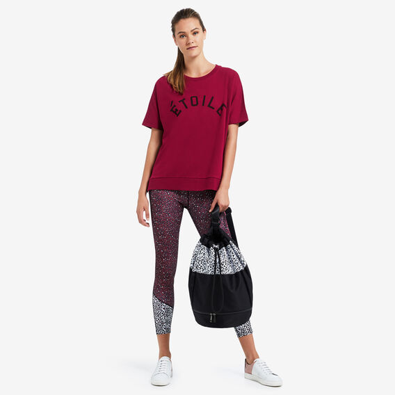 Graphic Sweat  RASPBERRY  hi-res