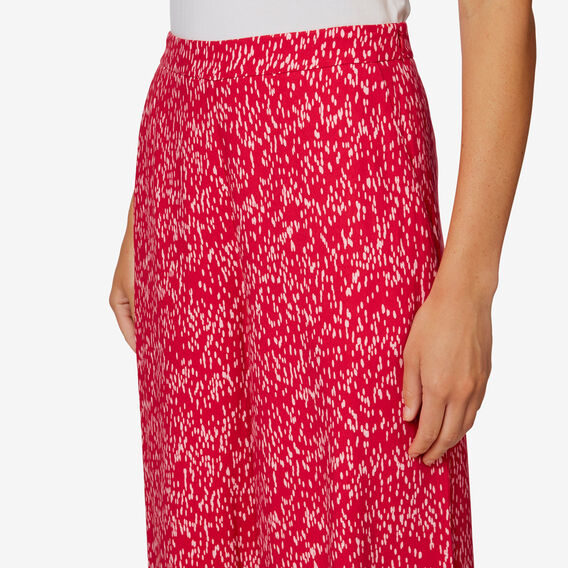Printed Culotte  BLURRED SPOT  hi-res