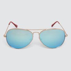 Aviator Sunglasses  GOLD  hi-res