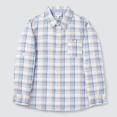 Seersucker Check Shirt  MULTI  hi-res