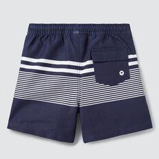 Basic Stripe Boardie  MIDNIGHT BLUE  hi-res