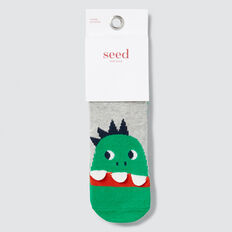 2 Pack Dinosaur Socks  MULTI  hi-res