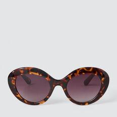 Kitty Cat Eye Sunglasses  TORT  hi-res