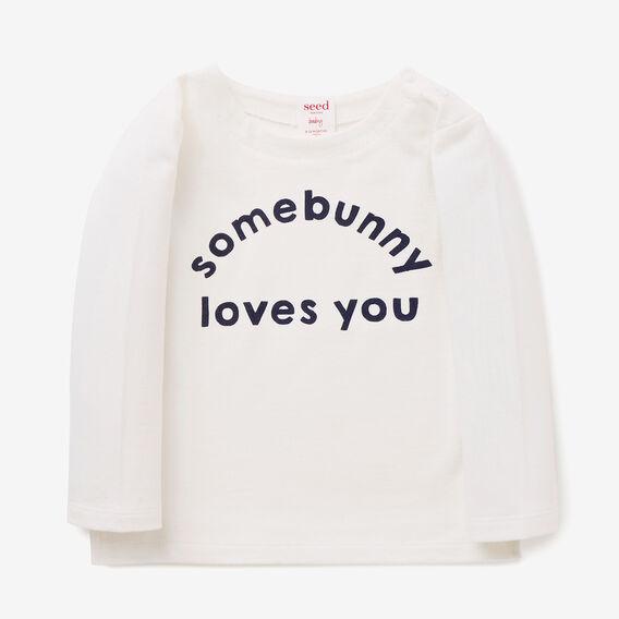 Bunny Love Tee  CANVAS  hi-res