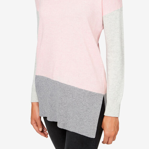 Colour Block Sweater  MULTI  hi-res