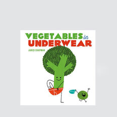 Vegetables In Underwear Book  MULTI  hi-res