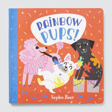 Rainbow Pups Book  MULTI  hi-res