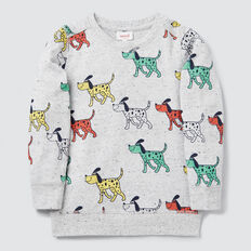Dog Yardage Sweater  CLOUDY MARLE  hi-res
