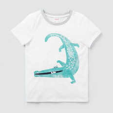 Alligator Tee  VINTAGE WHITE  hi-res