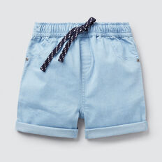 Chambray Short  BRIGHT CHAMBRAY  hi-res