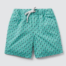 Mini Cactus Yardage Short  PALM GREEN  hi-res