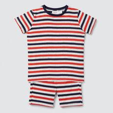 Stripe Pyjama  CLOUDY MARLE  hi-res