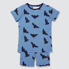 Bats Yardage Pyjama  BRIGHT COBALT  hi-res