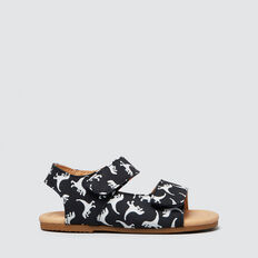 Toddler Dino Sandal  NAVY/WHITE  hi-res