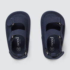 Baby Simple Sandal  NAVY  hi-res