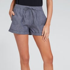 Drawcord Short  DEEPEST BLUE WASH  hi-res