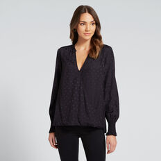 Wrap Top  DEEP NAVY  hi-res