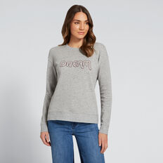 Dream Sweater  MID GREY MARLE  hi-res