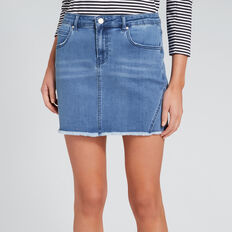 Denim Mini Skirt  CLASSIC DENIM  hi-res