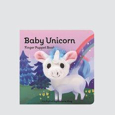 Baby Unicorn Finger Puppet Book  MULTI  hi-res