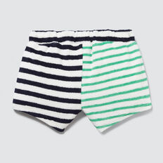 Stripe Towelling Short  MULTI  hi-res
