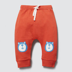 Bear Knee Track Pant  TANGO RED  hi-res