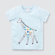 Giraffe Tee  PACIFIC BLUE  hi-res