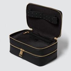 Travel Makeup Case  BLACK  hi-res