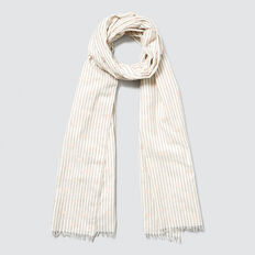 Stripes and Spot Scarf  PEACH NOUGAT  hi-res