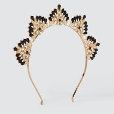 Jewelled Crown  GOLD  hi-res