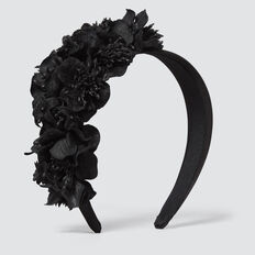 Floral Crown  BLACK  hi-res